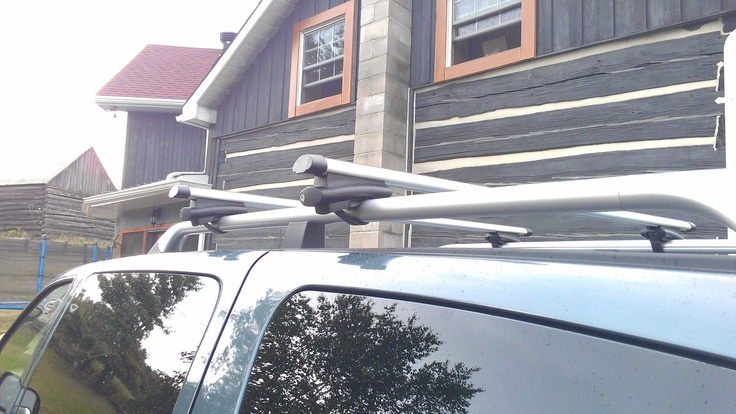 """Sean P. from Canada; roof rack cross bars. """"Just want to"""