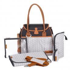Taille : 36x28x 21,5 cm           Poids : 898 g   Sac à langer Style Bag Black :: Maginea mobile