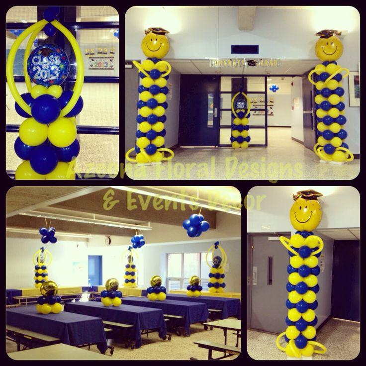 350 best images about balloons on pinterest sculpture for 2015 graduation decoration ideas
