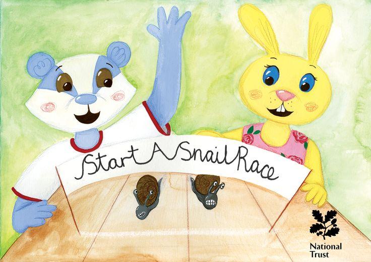 Start A Snail Race