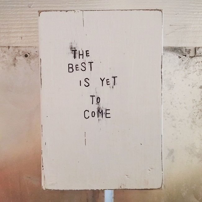 "Wood art Frank Sinatra song lyrics ""The Best is Yet to Come"" colorful wood wall hanging picture decor gift by wildwoodgraphics on Etsy"