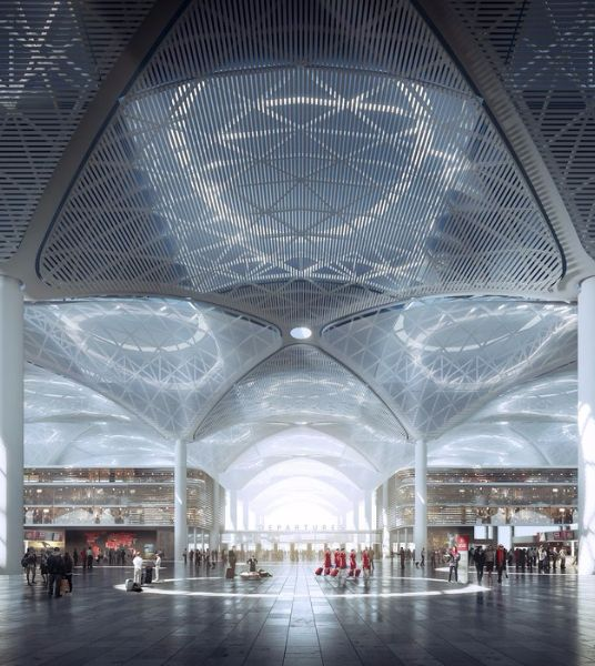 Istanbul's New Airport Terminal Slated to Be World's Largest
