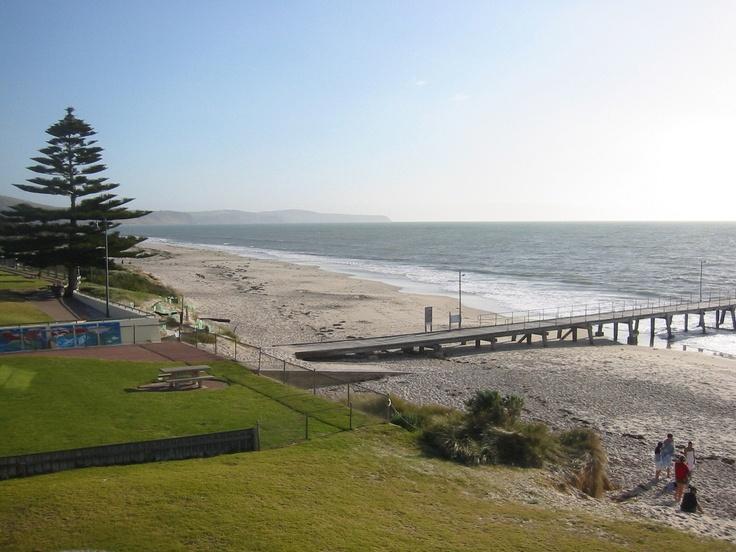Normanville beach Adelaide Fleurieu peninsula South Australia