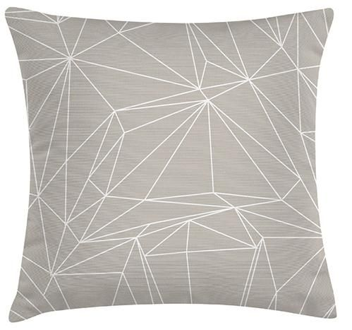 Geo Cushion. 100% Organic Cotton and comes with a plush filler. Only $45 with Free Shipping! http://www.stoolsandchairs.com.au/geo-cushion/