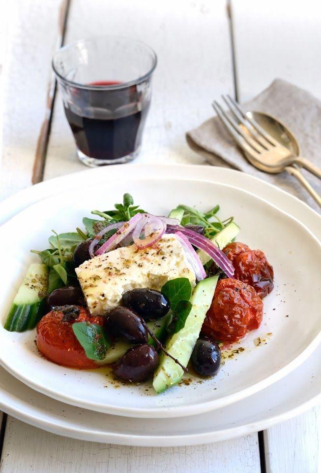 ... Kitchen: Greek Salad   food   Pinterest   Greek Salad, Salad and Feta
