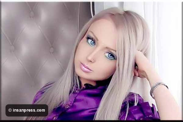 تعرف على صور باربي الحقيقية فاليريا لوكيانوفا Valeria Lukyanova إنسان Real Barbie Word Pictures Barbie