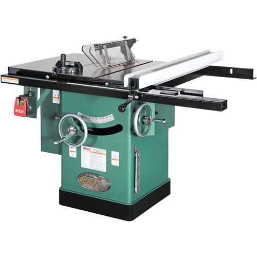"""10"""" 3 HP 240V Cabinet Left-Tilting Table Saw 