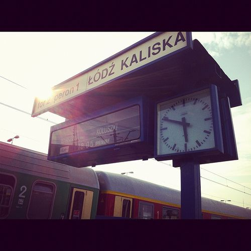 PKP Łódź-Kaliska #lodz