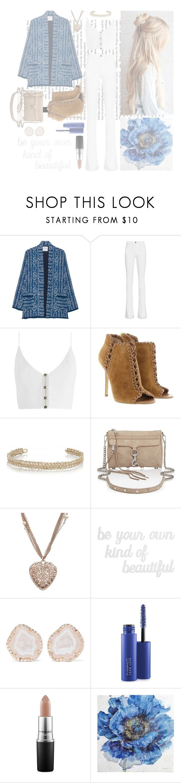 """""""✨"""" by zooboolakiss ❤ liked on Polyvore featuring Velvet by Graham & Spencer, Frame, Zimmermann, Michael Kors, Maison Margiela, Rebecca Minkoff, Chanel, PBteen, Kimberly McDonald and MAC Cosmetics"""