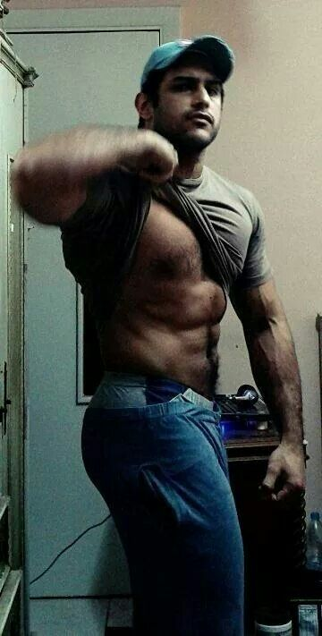 Furry Abs  Oh My  Hot Guys, Hairy Men, Muscle-7470
