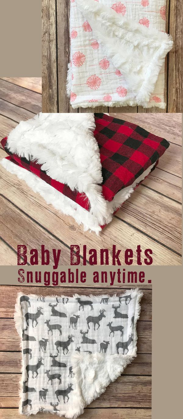 How about a soft, beautiful blanket for baby? Perfect for the fall and winter. Shower gift, Christmas, or hospital gift ~ appreciated anytime. I love these. I want one for me