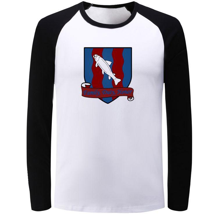 Cool Fish Design Long Sleeve T-shirt Men Women Game of Thrones House Bolton Banner Girls Boys T Shirt Hip Hop Tshirt Gift Tops - Direwolf Shop Direwolf Shop