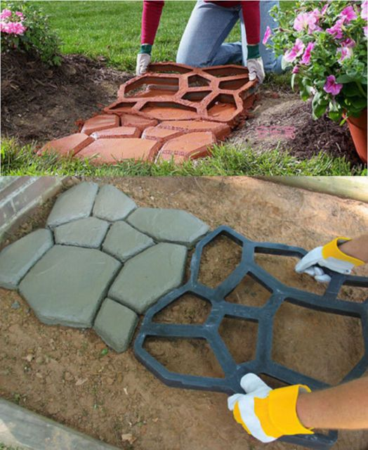 Ideas For Old Cement Patio: 17 Best Ideas About Concrete Slab On Pinterest