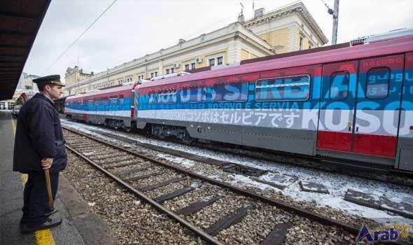 Serbia launches provocative train service to Kosovo's…