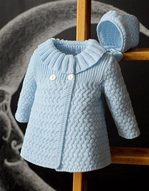 Beautiful Coat – Free Knitting Pattern