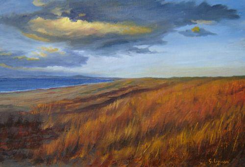"""""""Mari del Nord"""" Olio su Tela, 60x70 cm  """"North Seas"""" Oil on Canvas, 60x70 cm"""