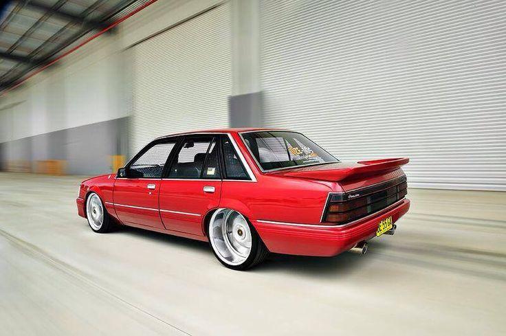 ◆ Visit MACHINE Shop Café... ◆ ~ Aussie Custom Cars & Bikes ~ Red HSV Holden VK Commodore