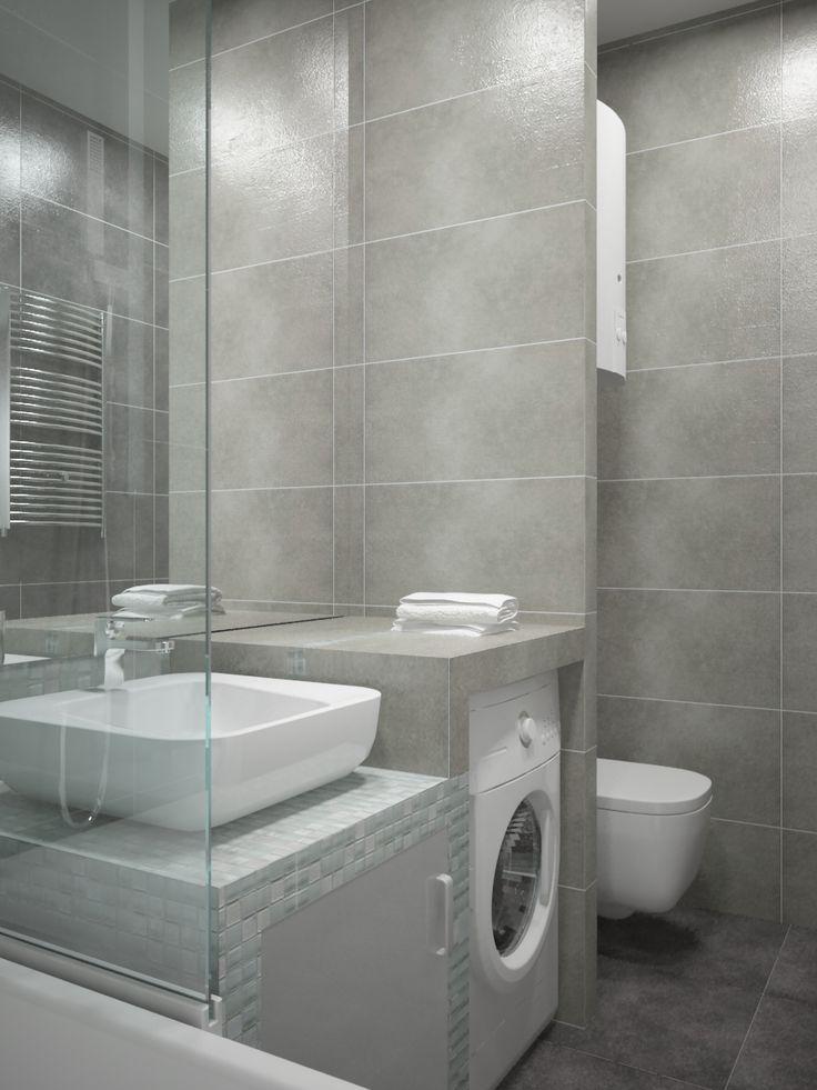 condensed bathroom
