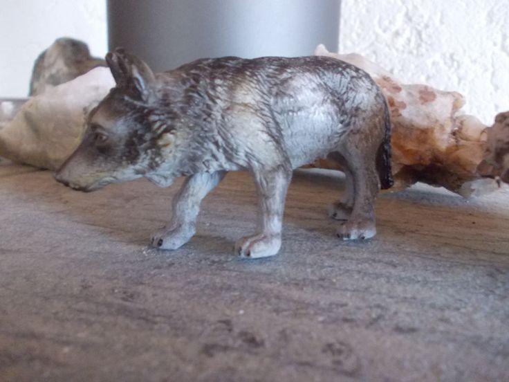 @ SCHLEICH Wolf 14223 @ sehr selten Rarität selten RAR Waldtier Wildtier @