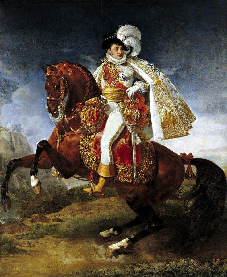 Jerome Bonaparte by Antoine-Jean Gros, c. 1808