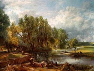 Stratford Mill - John Constable
