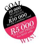 Share a #selfie and win R5000 | Ends  31 March 2014