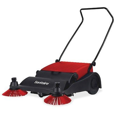 """Electrolux Vacuum Sweeper 32"""" Wide 37""""x32""""x16"""" Red/Black SC435 in Home & Garden, Household Supplies & Cleaning, Vacuum Cleaners 