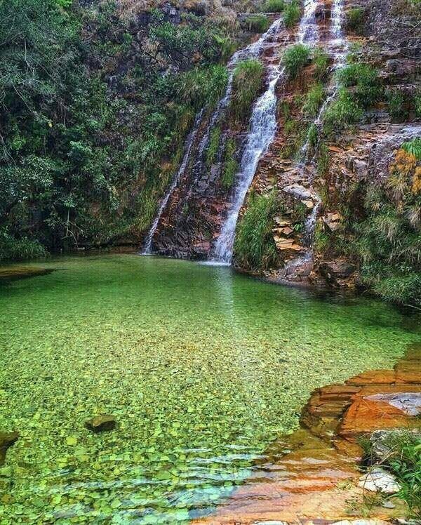 Lagoa azul em Capitólio- Minas Gerais