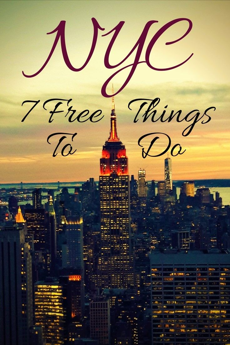 Travelling on a budget? Check out these free activities in The Big Apple!