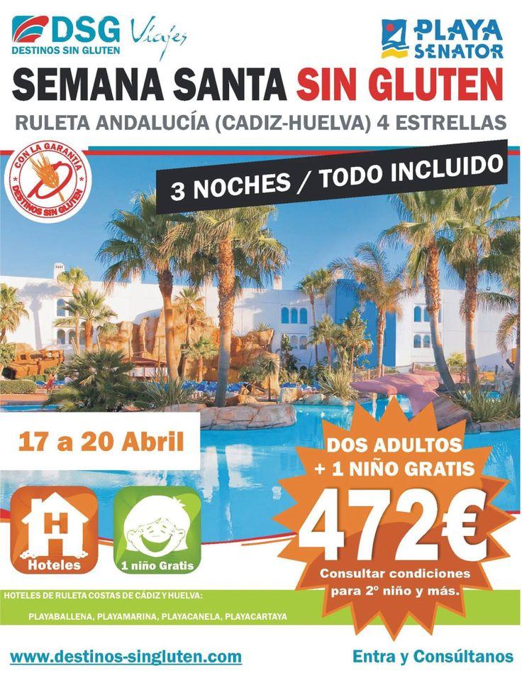 Ruleta en Cádiz/Huelva sin Gluten.