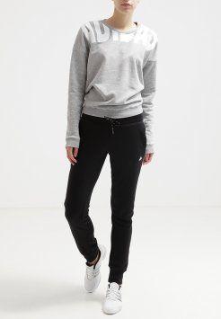 adidas Performance - ESSENTIAL - Träningsbyxor - black/white