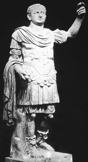 Emperor Titus. Emperor Vespasian. Construction began under the emperor Vespasian in AD 72, and was completed in AD 80 under his successor and heir Titus. Further modifications were made during the reign of Domitian (81–96).
