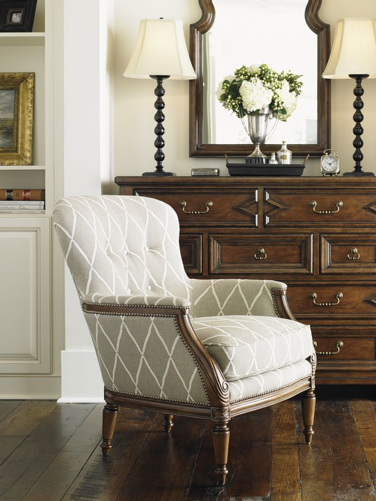 Coventry Hills Brentwood Chair Lexington Home Brands Furniture Traditional Nailhead Trim