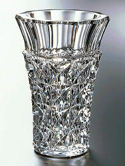 Baccarat Crystal Vase Celimene patttern