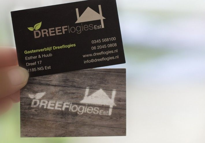 "Business card design ""Dreeflogies"" by Studio Phunc"