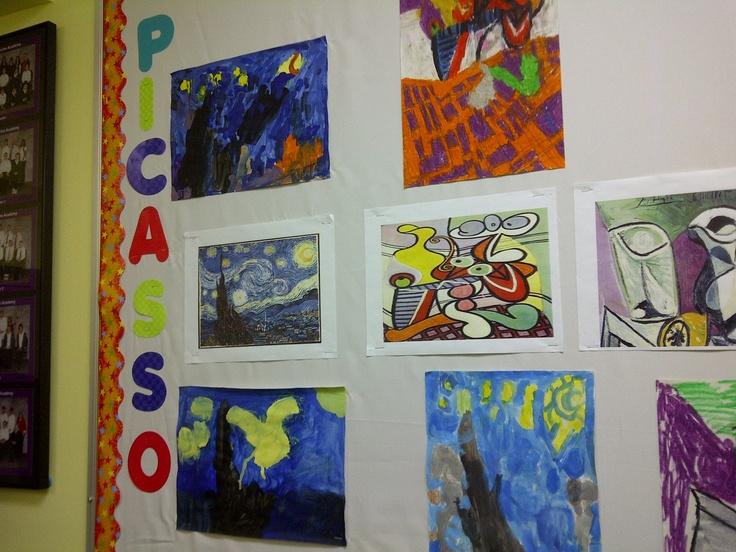 Picasso Van Gogh art