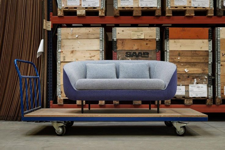 Haiku Low designed by Gamfratesi getting ready for shipment from our warehouse in Fredericia, Denmark. #fredericiafurniture #amodernoriginal #designcraft #danishdesign #danskdesign #haiku #gamfratesi #sofa #craftsmanship #behindthescenes
