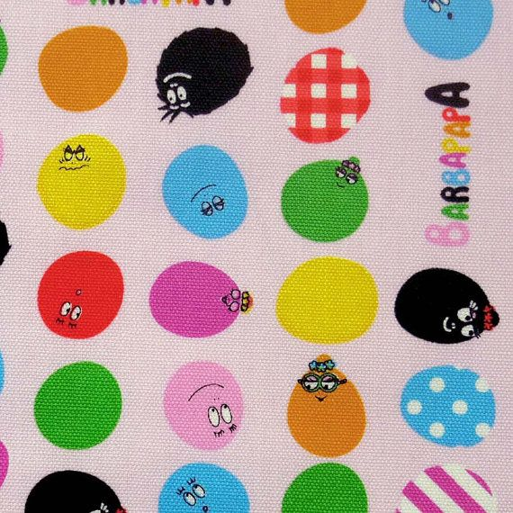 Hey, I found this really awesome Etsy listing at https://www.etsy.com/listing/91478987/barbapapa-fabric-half-yard-light-pink
