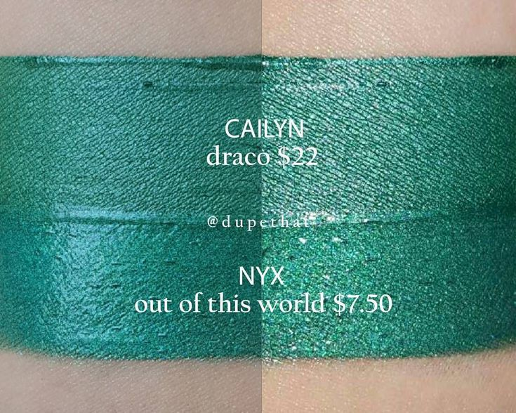 Cailyn Draco = NYX Cosmic Metals: Out of This World #dupe