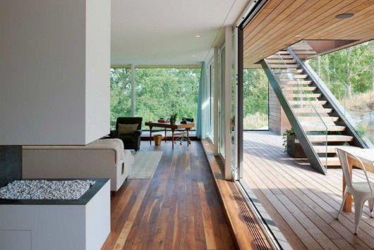 //\\: Villas Midgård, Living Spaces, Stockholm Sweden, Architecture Interiors, Interiors Design, Villas Midgard, Outdoor Stairs, Modern House, Sliding Doors