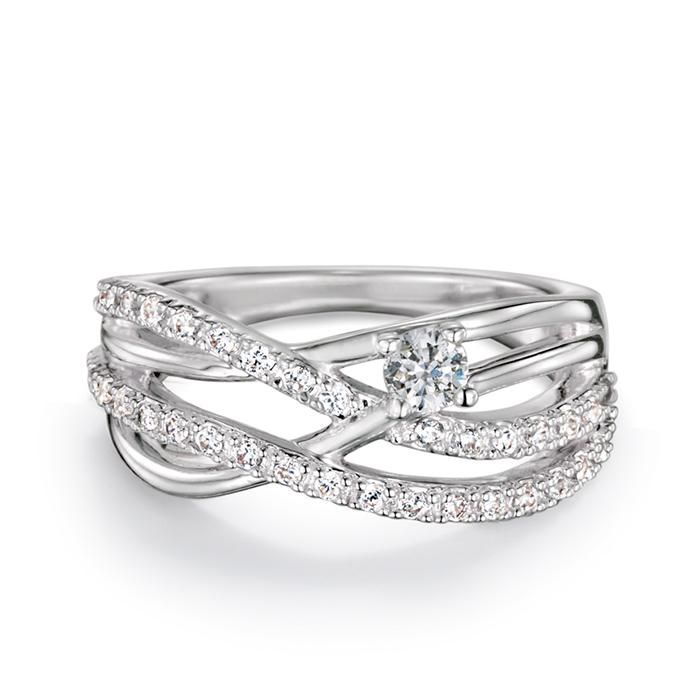 A beautiful, delicate layered ring to truly impress ...