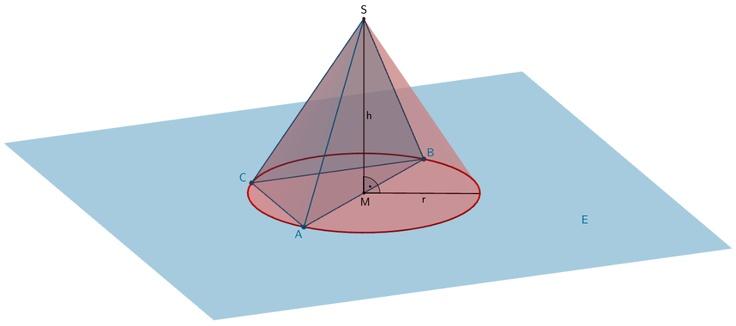Grafik 5 zur Lösung der Teilaufgabe f - Geometrie II - Mathematik Abitur Bayern 2011 G8