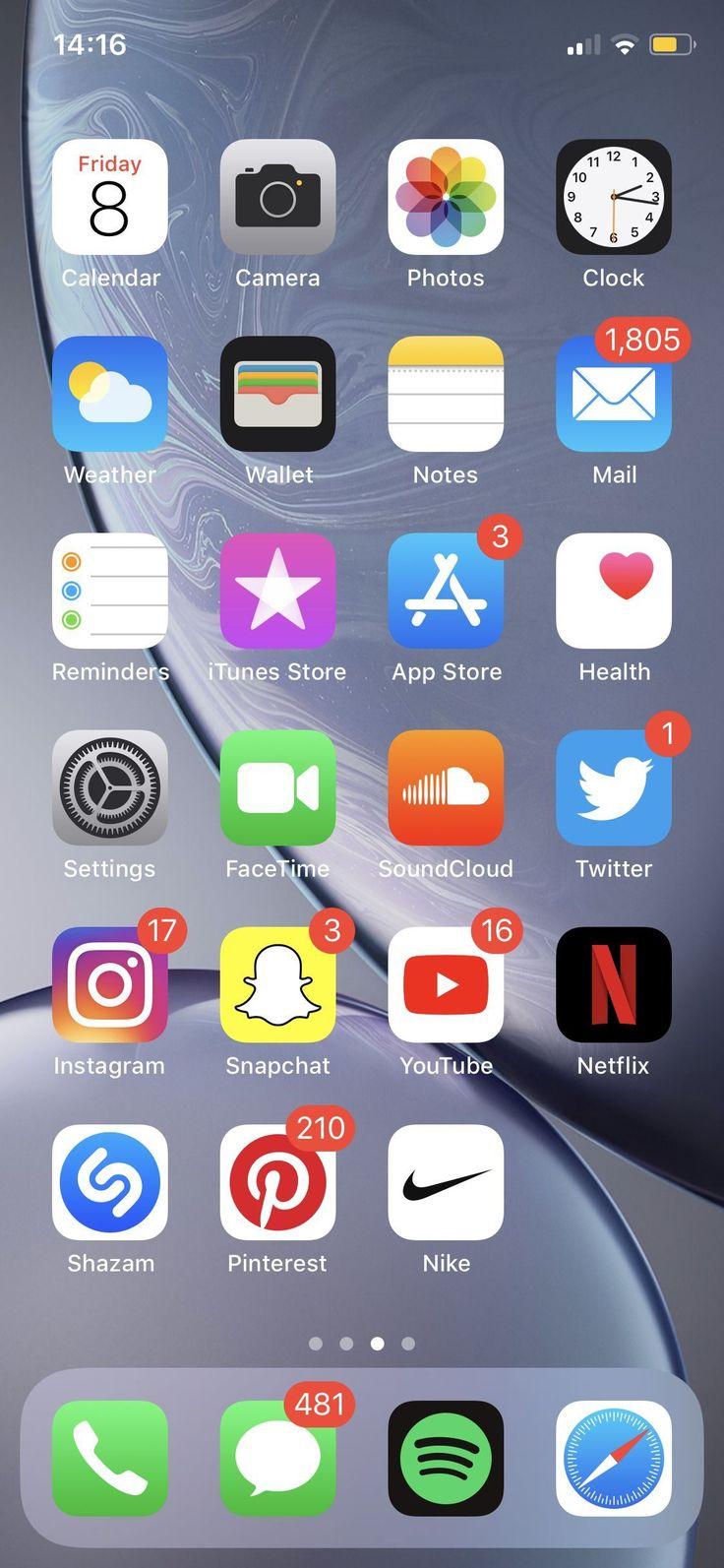 Pin on Ułożenie aplikacji iPhone ️ ️ ️