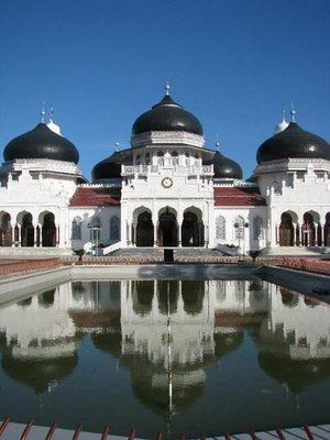 Masjid Raya Baiturrahman, Banda Aceh - Nanggroe Aceh Darussalam