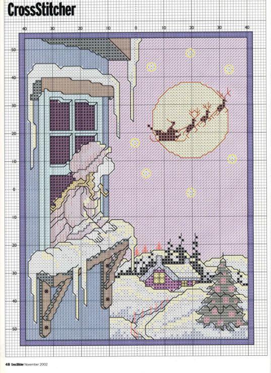 Gallery.ru / Фото #35 - CrossStitcher 127 ноябрь 2002 - bangel98