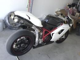 Ducati 1098S Race Bike