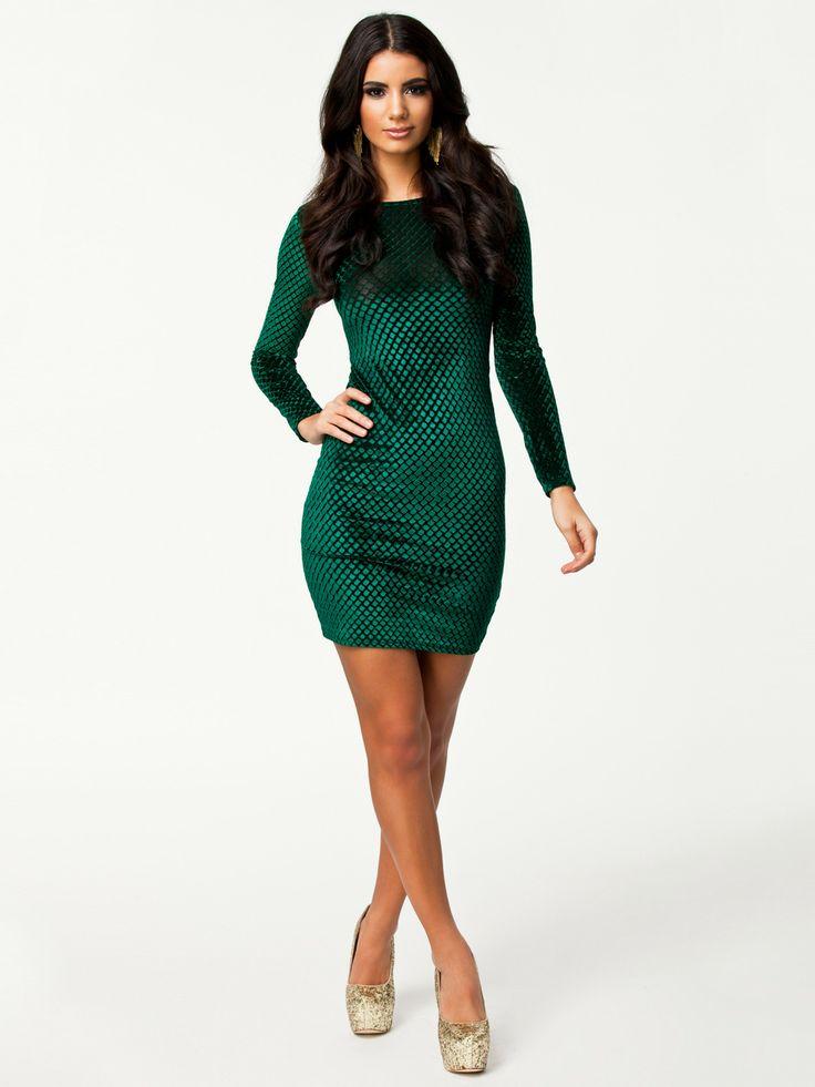 Amazing Famous Design Women Dress Green Mini Cocktail Clubwear Dress Free