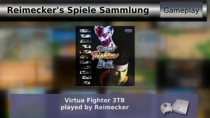 Gameplay : Virtua Fighter 3TB [Dreamcast]