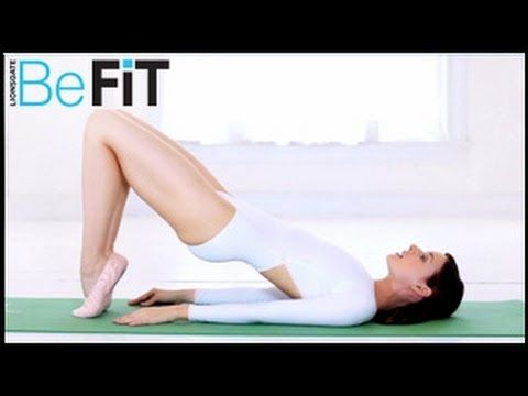 Ballet Beautiful | Lean Legs & Buns Workout- Mary Helen Bowers - this is a great quick one for abs, butt & arms!