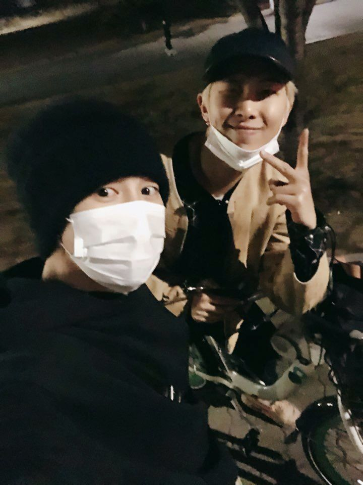 ☆ MinJoon ☆*°|| 190310 bike riding || BTS RM Namjoon